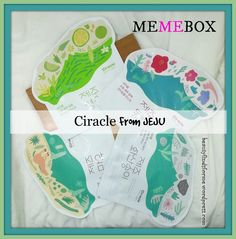 Memebox Ciracle From Jeju Masks Value Set Unboxing! | Unboxing Beauty