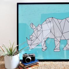 A simple DIY for wall art on the cheap.