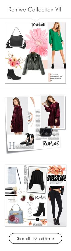"""""""Romwe Collection VIII"""" by hedija011 ❤ liked on Polyvore featuring Post-It, Tiffany & Co., Bobbi Brown Cosmetics, BoonTheShop, MAC Cosmetics, Too Faced Cosmetics, Maybelline, Ciaté, Fountain and WALL"""