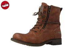 MUSTANG - Damen Boots - Braun Schuhe in Übergrößen, Größe:44 (*Partner-Link)