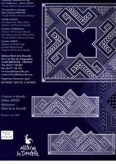 Foto: Lace Making, Lace Patterns, Bobbin Lace, Rock Revival, Graphic Design, Albums, Magazines, World, Journals