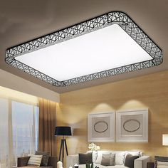 Flower acrylic led ceiling light modern living room ceiling lamps the title of this visual is kitchen ceiling lighting design it is actually just one of several marvelous visual samples in the post titled cool kitchen aloadofball Gallery