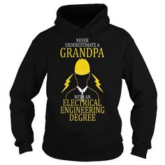I Love Electrical Engineering Grandpa Shirts & Tees