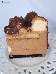 Romanian Desserts, Mousse Cake, Eclairs, Something Sweet, Cheesecakes, Nutella, Cake Recipes, Sweet Treats, Food And Drink