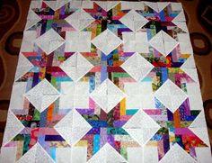 36 French Braids Quilt Top Fabric Blocks Squares   eBay