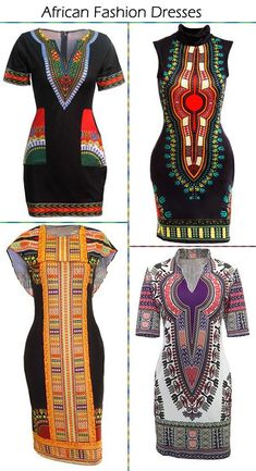 African Dashiki Fashion Dresses Sale On African Inspired Fashion, African Print Fashion, Fashion Prints, African Prints, Trend Fashion, Look Fashion, Autumn Fashion, Womens Fashion, Fashion Ideas