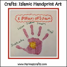 Day 18 - 5 Pillars of Islam Crafts       I have three different crafts for this subject. One is a 3D structure, one is a painting project...