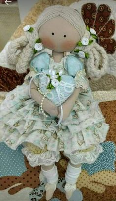 Lace Balloons, Soft Dolls, Fabric Dolls, Softies, Doll Patterns, Girl Dolls, American Girl, Doll Clothes, Diy Crafts