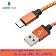 168 sold in 30 days for 0.93$ on AliExpress. Click image to visit --BrankBass 1M 2M 3M/25CM Braided Nylon Micro USB Cable Charger Data Sync USB Cable Cord For Android Smart Phone for tablet PC