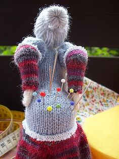 Ravelry: OUCH! - a somewhat different pincushion ;-) pattern by gitwerg ~ I have to make this...some day!!!