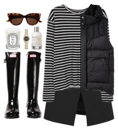 """""""hace frío"""" by cinnamondonut ❤ liked on Polyvore featuring Witchery, Diptyque, Hunter, Josh Goot, R13, Helmut by Helmut Lang, Marc by Marc Jacobs and Le Labo"""
