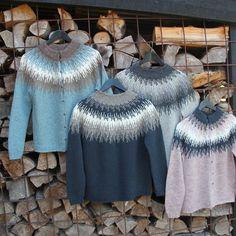 Strikkeopskrift -Søster Elise - Tvinni -køb online hannelarsenstrik.dk Nordic Sweater, Wool Sweaters, Knitting Sweaters, Ravelry, Knit Crochet, Pattern, Clothes, Collection, Knits
