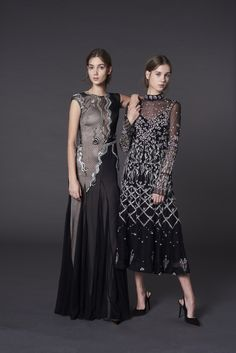 Dress on the right. Temperley London Pre-Fall 2017