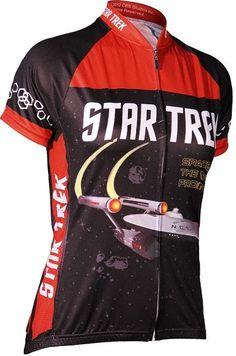 Star Trek Ladies  Cycle Jersey Star Trek Tv Series e7e458fc2