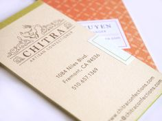 Chitra Artisan Chocolates: Logo & Packaging by Mai K. Nguyen, via Behance