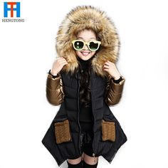27.27$  Watch now - http://aliqdl.shopchina.info/go.php?t=32411386208 - 2016 Fashion parkas girl clothing brand kids clothes winter children outerwear coats princess girls jacket children's wear  #aliexpresschina