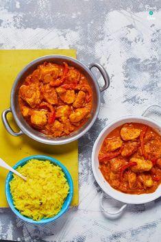 Chicken Tikka Masala Curry - Pinch Of Nom Tika Massala, Slimming World Curry, Carrot And Coriander Soup, Slimming World Recipes Syn Free, Masala Curry, Slimming Eats, Cooking Recipes, Healthy Recipes, Healthy Dinners