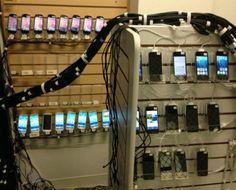 Facebook、Android スマートフォンや iPhone など2000台以上の端末をテストできるモバイル端末ラボを公開 | GPad