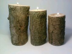 Rustic Tealight Candle Holder Centerpiece by DeerwoodCreekGifts, $20.00