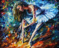 Ballerina Painting  - Ballerina Fine Art Print