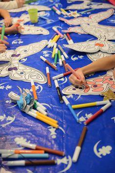 Vittoria compie 7 anni 15/11/2014 Disegnamo le ali di fata!