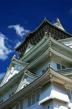 Osaka Castle, Japan 大阪城,日本  Osaka castle by tomosang R32m on Flickr