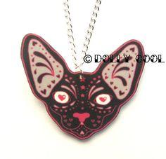 Italian Charms Bracelet Cat  I love My Sphynx