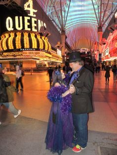 "Love this photo from one of our fans -  ""First dance on Freemont Street"""