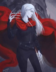 Manon Blackbeak by taratjah. Heir of Fire. Queen of Shadows. Empire of Storms. Sarah J. Maas