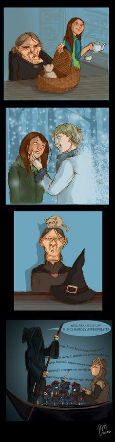 Pratchett - Wintersmith by yenefer.deviantart.com on @deviantART
