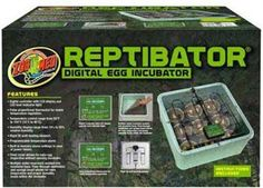 The Reptibator Digital Egg Incubator allows breeders to get a clear view of their eggs, as well as complete control over humidity and temperature. This unit makes reptile incubating simple and exciting.