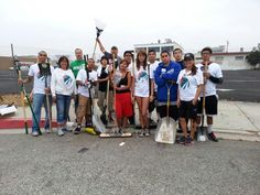 Iron Dog Fitness volunteer day in City of Commerce clean up beautification day :-D