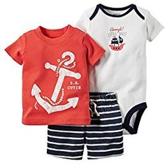 e519579c87 104 Best Pirate Outfits For Babies images | Carters baby boys ...