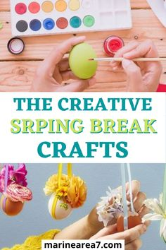 Spring break is right around the corner and you must now think of ways to keep your kids entertained at home without watching the TV all day! But do not worry because I have here a list of the best fun crafts and activities your kids can do at home! #springbreak #springdiy #parenting Spring Break, Diy Gifts, Fun Crafts, Christmas Diy, Diy Home Decor, Corner, Parenting, Entertaining, Activities