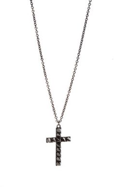 Spike Cross Necklace | Hot Topic