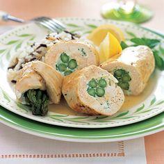 Chicken & Asparagas