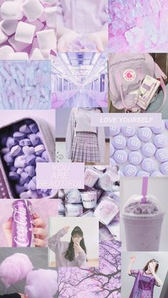purple aesthetic wallpaper- edit: me