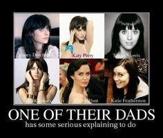 Haha finally someone else thought that they all looked alike too!!