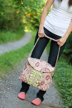 Sew Much Ado: Lola Bea Diaper Bag Pattern