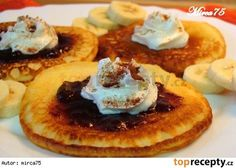 Czech Recipes, Russian Recipes, Griddle Cakes, Sweet Desserts, Recipe Collection, Breakfast Recipes, Pancakes, Food And Drink, Sweets