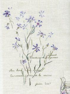 Bleuets de Carmaux From Marie-Th�r�se Saint-Aubin - Cross Stitch Charts - Embroidery - Casa Cenina