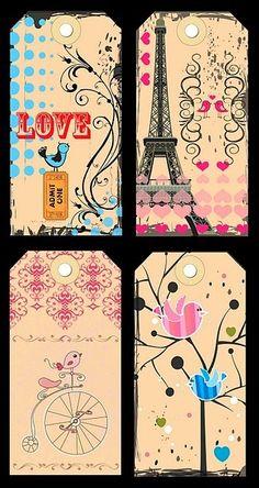 Tays Rocha: Printables - Tags lindas para usos variados