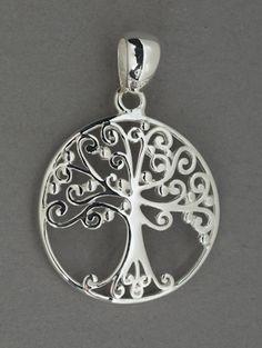 Angel Oak Tree Pendant, Dacuba's Fine Jewelry