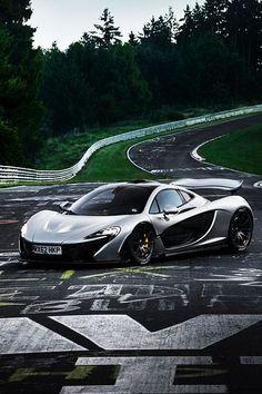 Visit The MACHINE Shop Café... (Best of McLaren @ MACHINE) 2013 Nurburgring McLaren P1