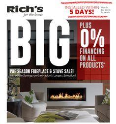 85 best rich s super sales images fire pits fireplace hearth rh pinterest com