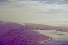 Fotobehang: Strand in Paarstint