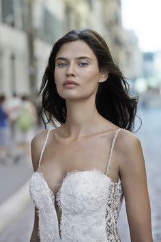 Bianca Balti Stuns in Wedding Gowns for Alessandro Angelozzi Couture 2015 Bridal Shoot Bianca Balti, 2015 Wedding Dresses, Wedding Gowns, Couture 2015, Couture Bridal, Fairytale Fashion, Italian Beauty, Portraits, Gorgeous Wedding Dress