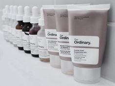 New for 2017- The Ordinary skincare regimens from Brandon Truaxe. This post serves as good starting guide to using The Ordinary