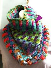 One of my favourite cowls to knit is the Inspira Cowl. It is knit with two colours of yarn and my yarn of choice is Liberty from Classic El. Fair Isle Knitting, Loom Knitting, Hand Knitting, Knit Cowl, Knitted Shawls, Knit Scarves, Freeform Crochet, Knit Crochet, Knitting Patterns