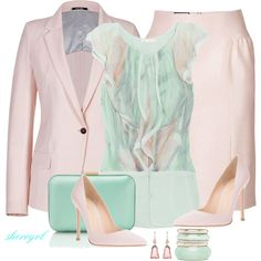 """""""Pastels Contest"""" by sherryvl on Polyvore"""